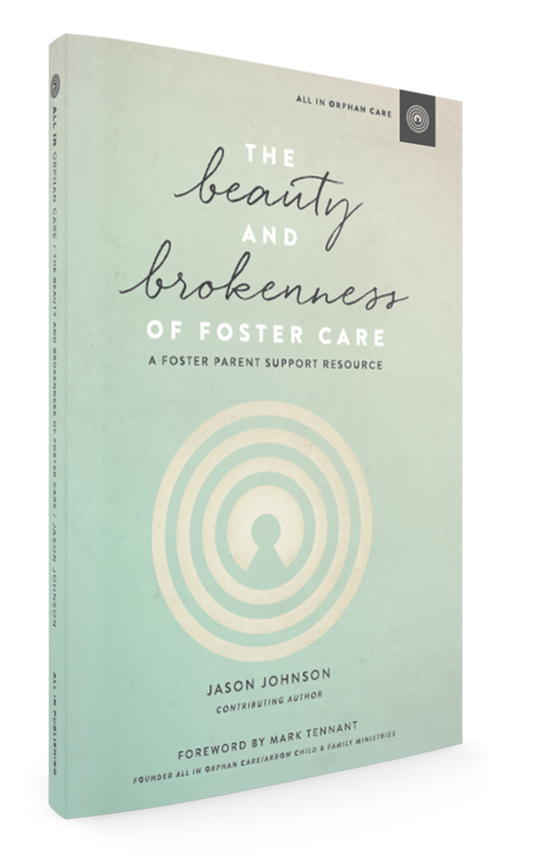 Bible Study Curriculum:The Beauty & Brokenness of Foster Care            by Jason Johnson   - Jason Johnson's 10-week support resource for Christian foster parents will guide the evenings. Topics Include: Loving a Child That Might Leave, Foster Care and Our Biological Kids, Humanizing Birth Parents, and others. The book draws from Scripture and includes group discussion questions.*Books will be provided at no charge to moms who commit to attending the group.*
