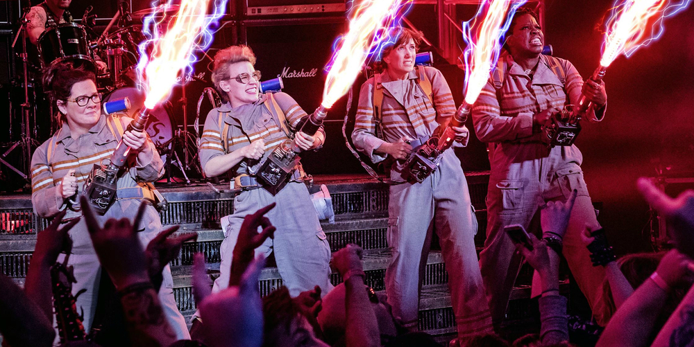 ghostbusters, review, analysis, awful, talk hard, podcast