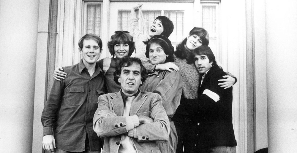 garry marshall, happy days, fonzie, mork, robin williams, ron howard