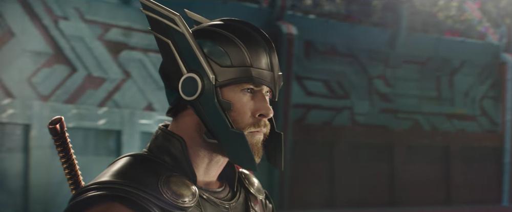 thor, ragnarok, wing helmet, trailer, marvel