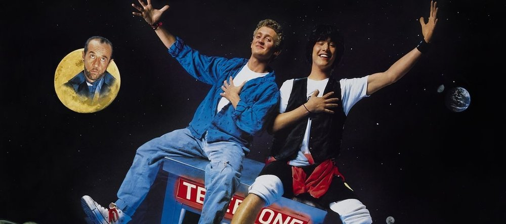 bill and ted, bill & ted, movie podcast, talk hard, 80s, eighties, gremlins, drago, rocky