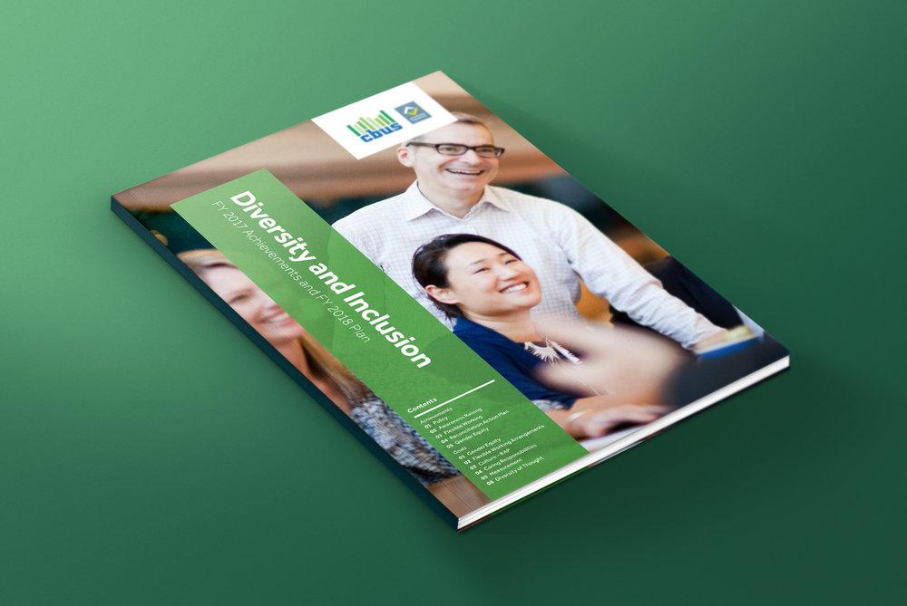 Cbus Diversity and Inclusion Report Design Infographic Design