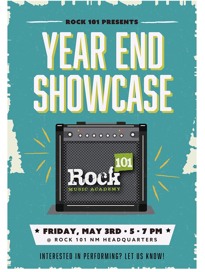 Rock 101 NM Year End Showcase 2018-19