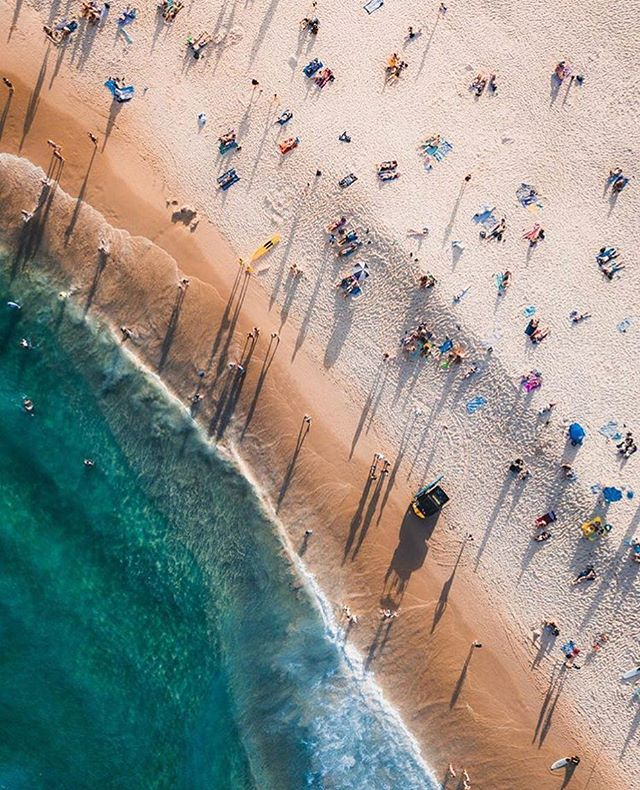 Bit of Monday dreaming, beautiful work 📷 by @alongequeue of Bondi, love this.