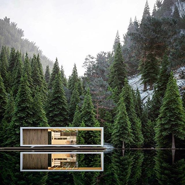 Dream house. Stavanger House by @alex_nerovnya. 🌲🌲🌲🌲🌲🌲🌲