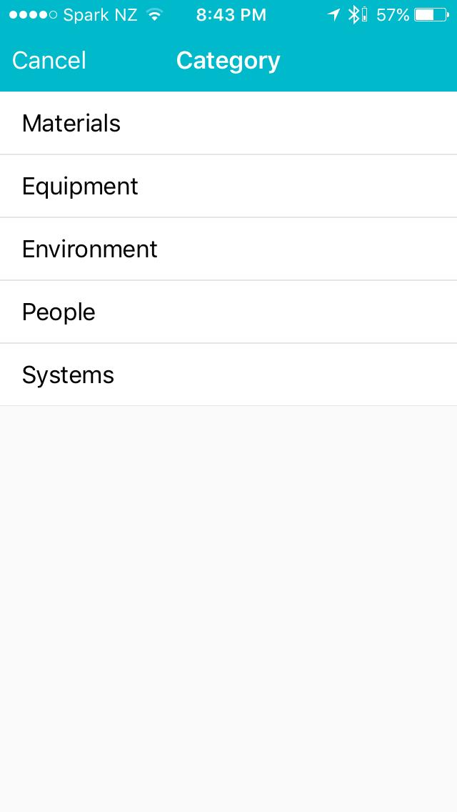 Blerter Hazard Categories