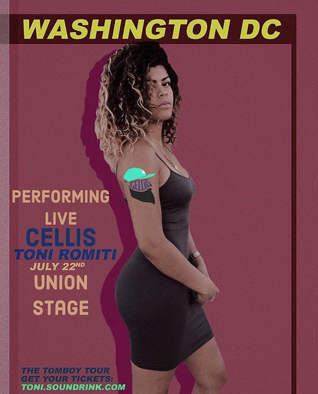 Get ready for more summer drip DC💧 —- This Sunday catch this heatwave @unionstage as I'll be performing alongside Chicago's very own @toniromiti.  I can't wait for this one and even more excited to see the DC Romiti gang in the crowd, y'all so foineeee! —- Hit me for tix!!