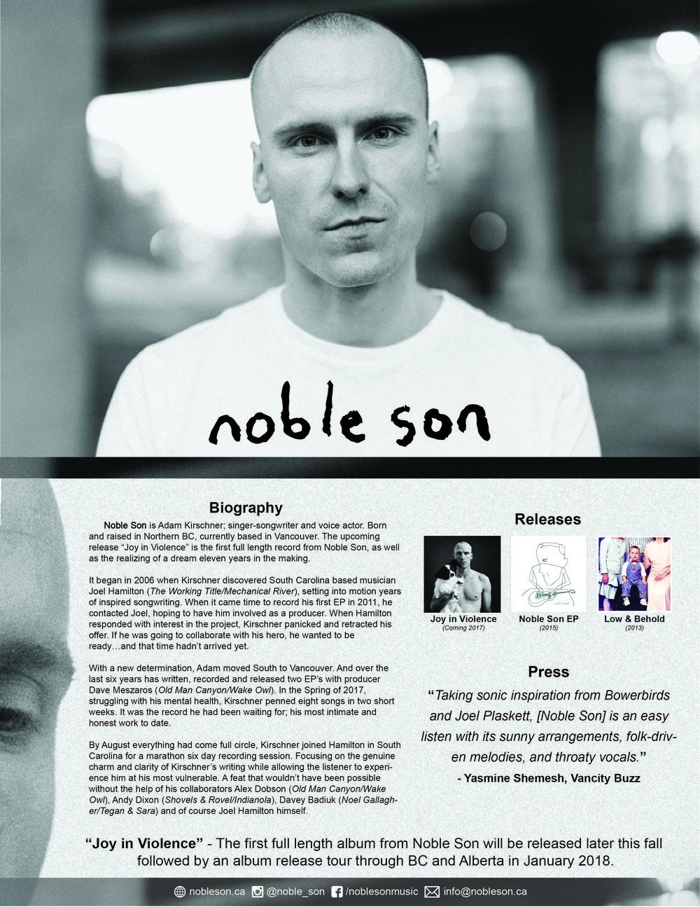 Noble Son - Single Sheet - 2017.jpg