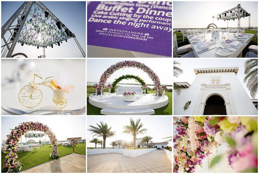 Carnivalesque Weddings & Events   Yas Links Club, Abu Dhabi {Wedding}