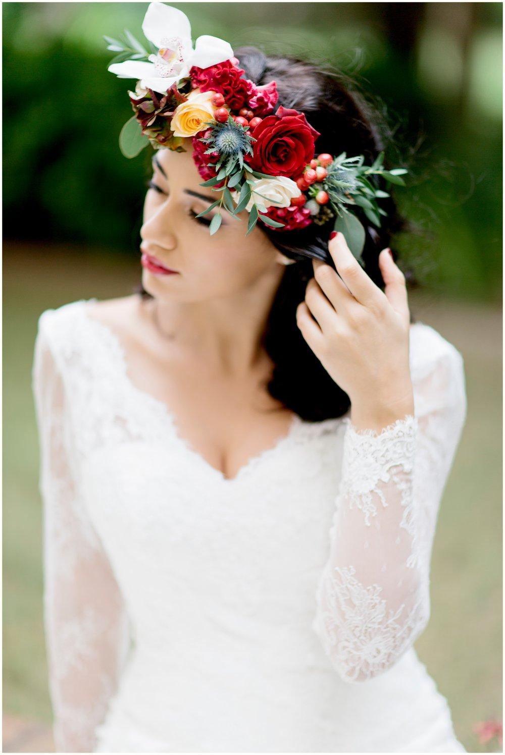Floral Crown:  Firenze Flora
