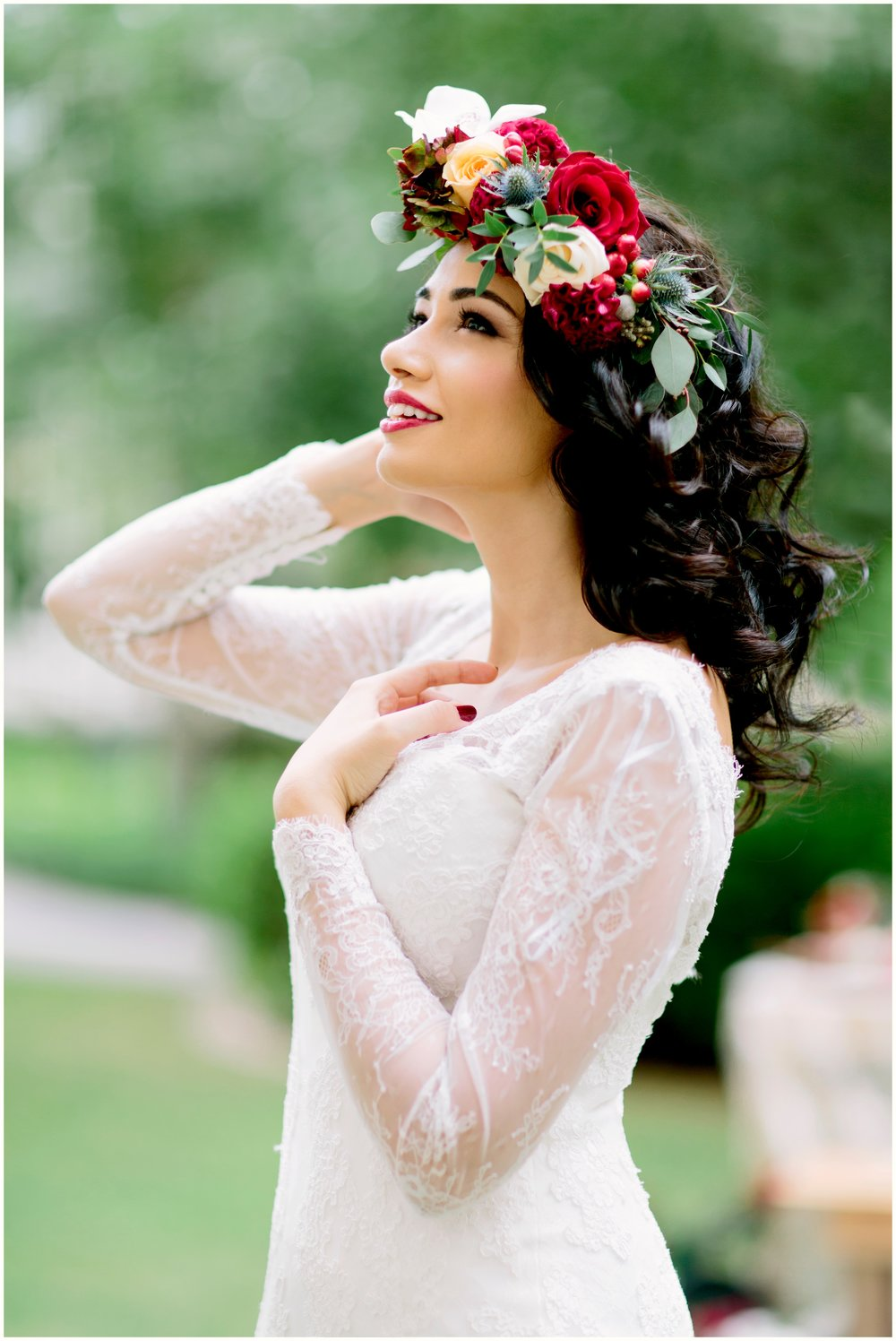 Special thanks to our stunning model: Dalia Fadel