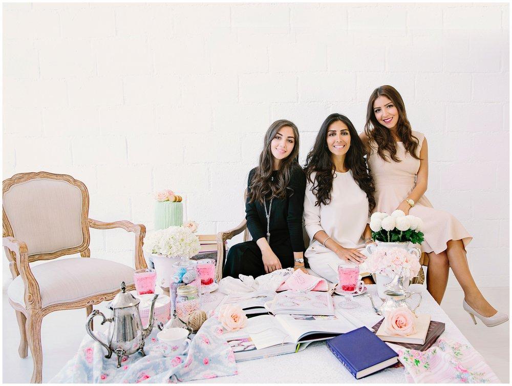 Mae, Rasha & Dana - The Purple Chair