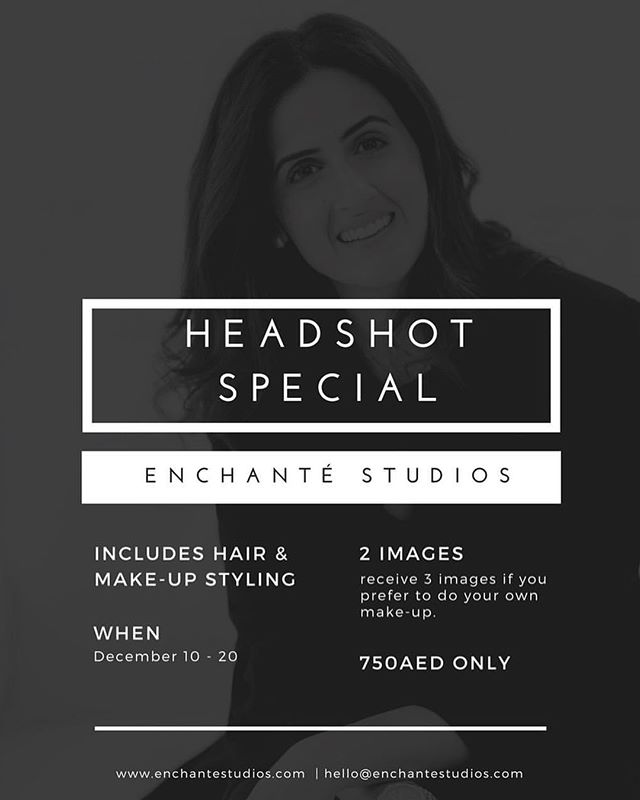 HEY! Our @creatives.enchante team has a little something for our masterminds! ———————————————————————— ATTENTION MASTERMINDS: With the year coming to an end, our team at Enchanté Studios thought we all need some fresh new headshots for the new year. Right? We're running a Headshot Special from today to the 20th of this month only!  Head over to https://creatives.enchantestudios.com/headshot-special for samples and to book a schedule! LINK IN BIO ✨