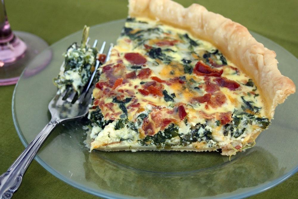 Copy of Spinach-Bacon Quiche
