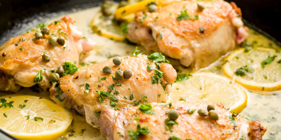 Lemon Caper Chicken