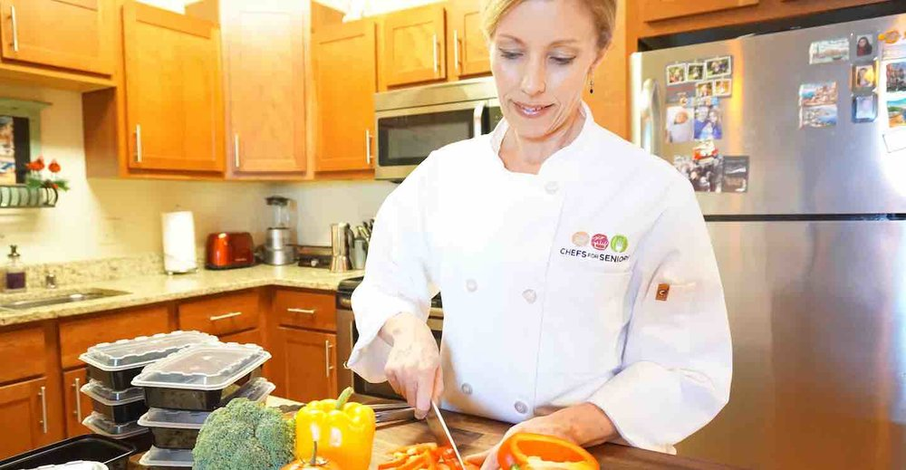 An in-home personal chef is a unique option for seniors looking for healthy, customized meals.