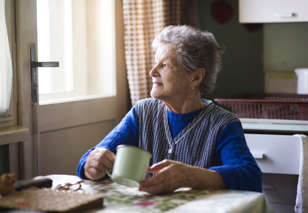 5.3 million of the 5.5 million Americans affected by Alzheimer's disease are over age 65.