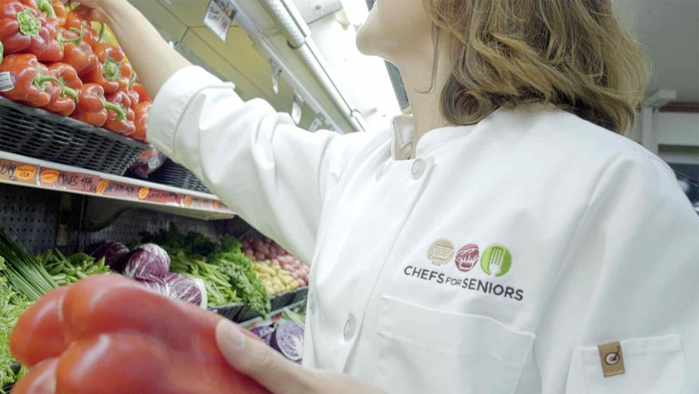 Personal chefs also provide a grocery shopping service for clients.