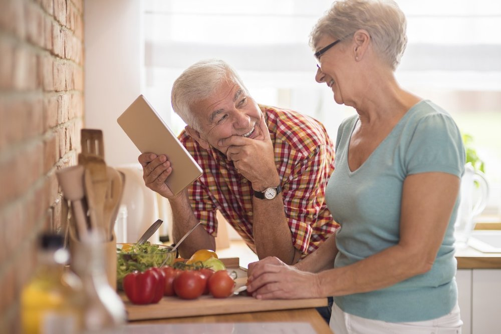 If you want to get serious about losing weight, you'll probably have to do more cooking at home and eat in restaurants less. Some seniors could benefit from having a healthy meal service if they are tired of cooking for themselves and are looking to lose weight.