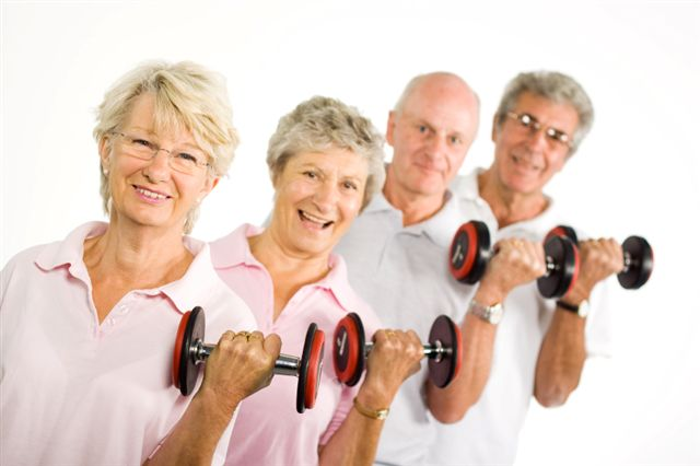Lifting light free weights 2-3x per week is a great strength training workout that can build muscle.