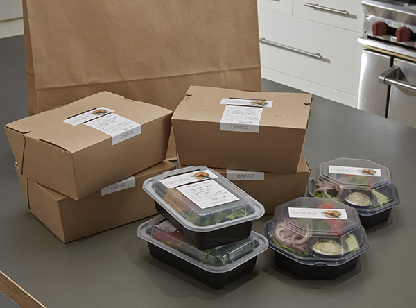 There are 100's of meal delivery services available throughout the US, and meals can be shipped just about anywhere.