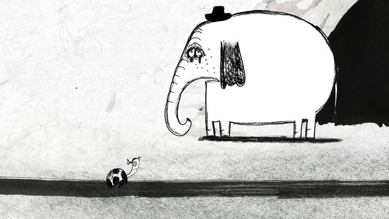- - «Несуразь», реж. Анна Романова / 5 минИногда окружающие так раздражают: жалобы, вопросы, пустая болтовня. Так хочется сбежать отвсех туда, где никого нет... Новдруг итебя тоже нет, когда тысовсем один?Производство:Школа-студия «ШАР»