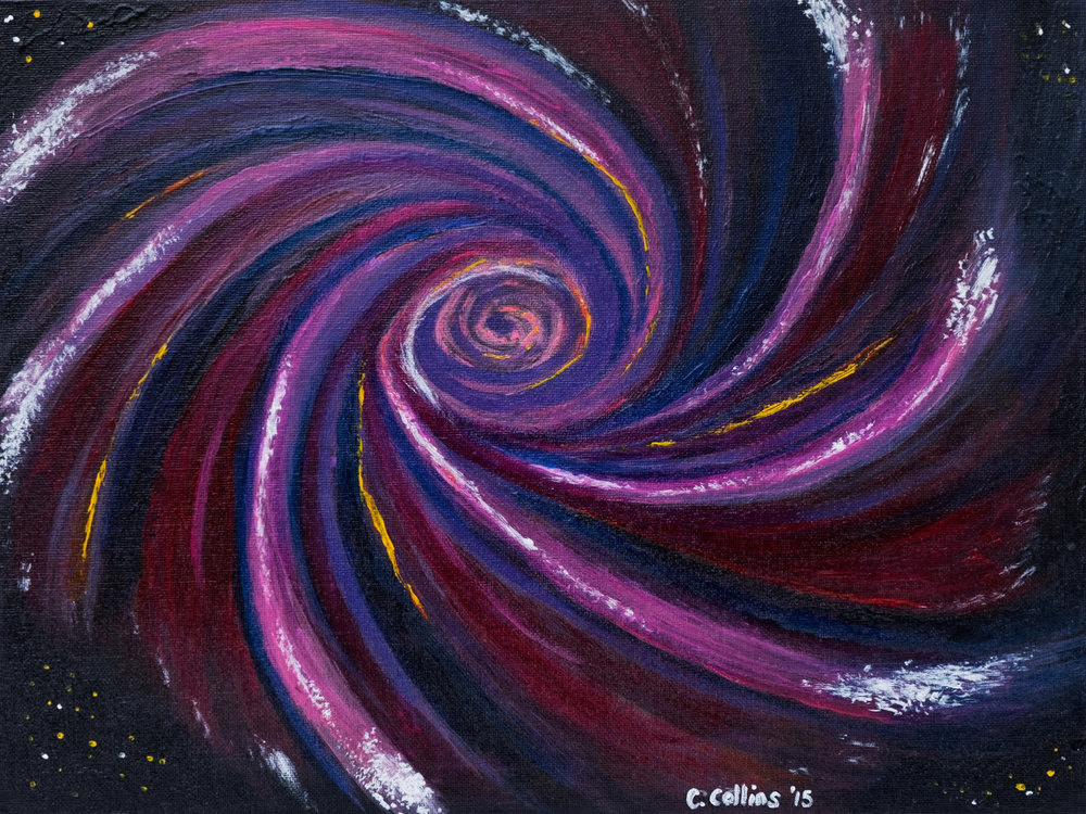 Soul of the Universe - Acrylic Painting, Prints available