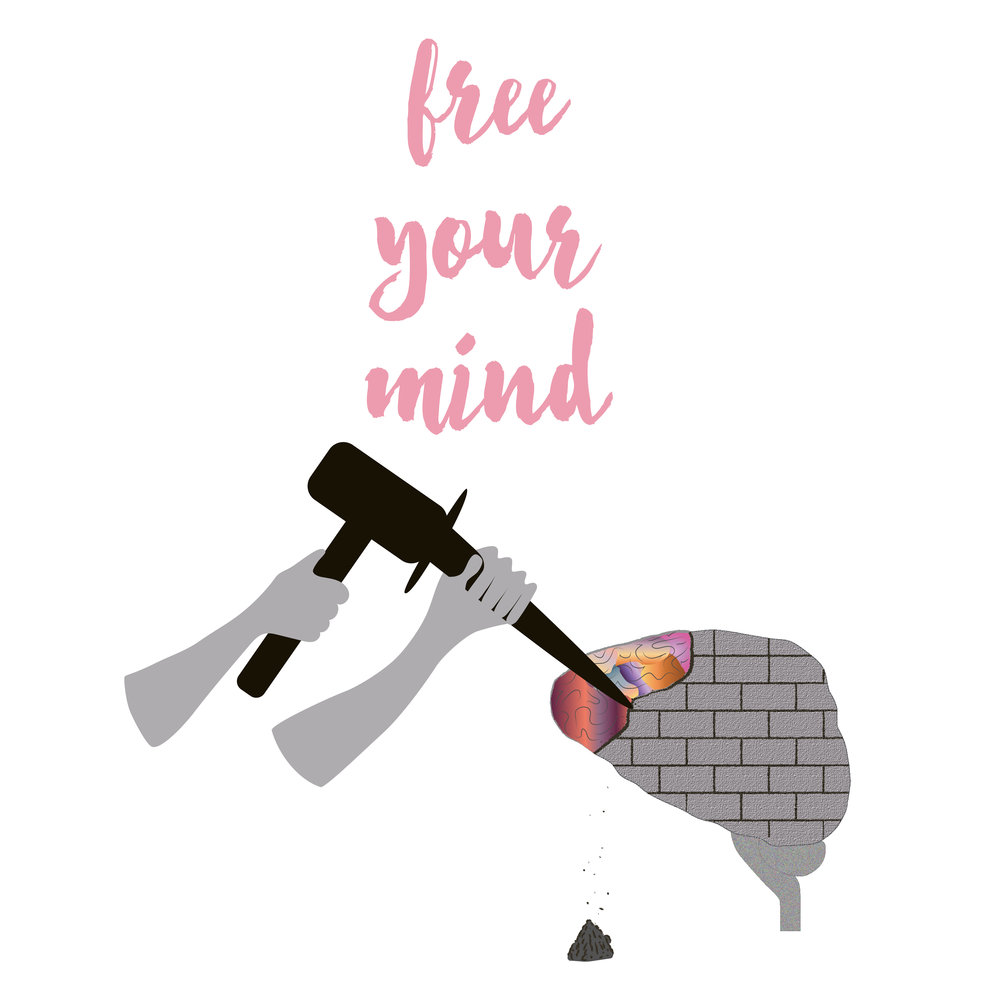Free Your Mind - Illustration, Prints available