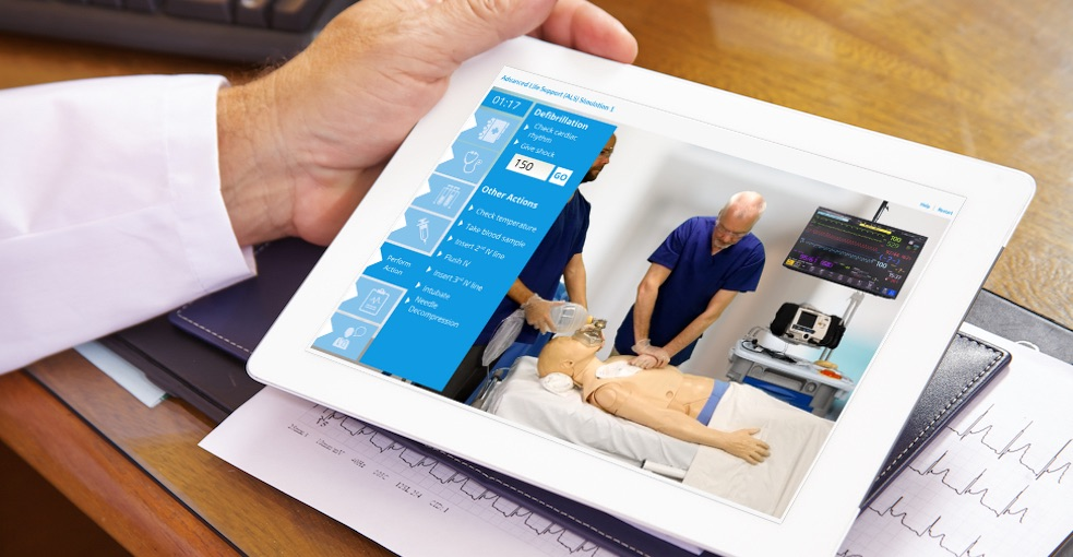 Osler's award winning interactive ALS online simulation