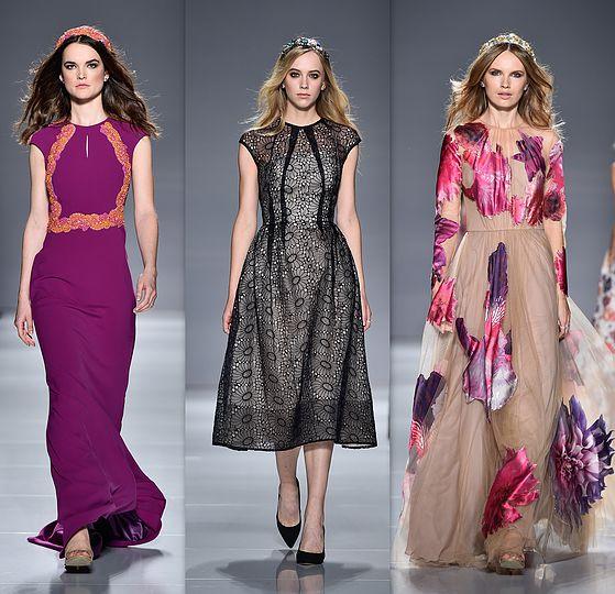 מתוך התצוגה של Lucian Matis בשבוע האופנה טורונטו    George Pimentel / Getty Images