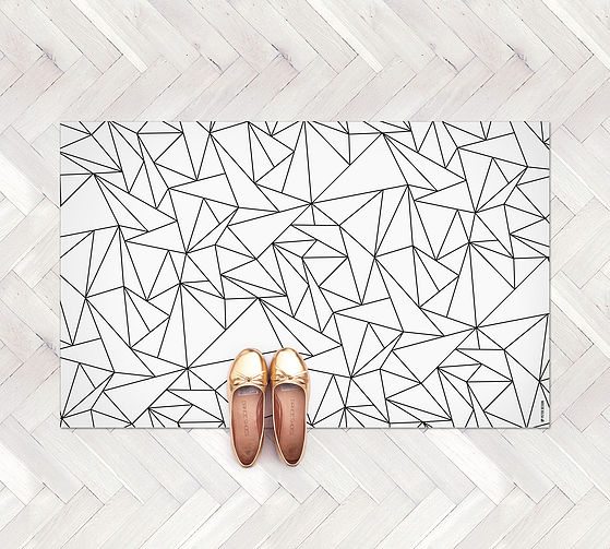 """""""נעים ברגליים"""" שטיח PVC להשיג ב petek-design.com"""
