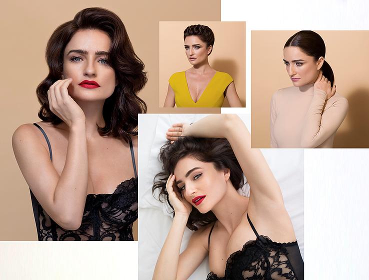 אניה בוקשטיין לHair & Makeup Express, מגוון סגנונות לבחירת הלקוחה (צילום: שרבן לופו)
