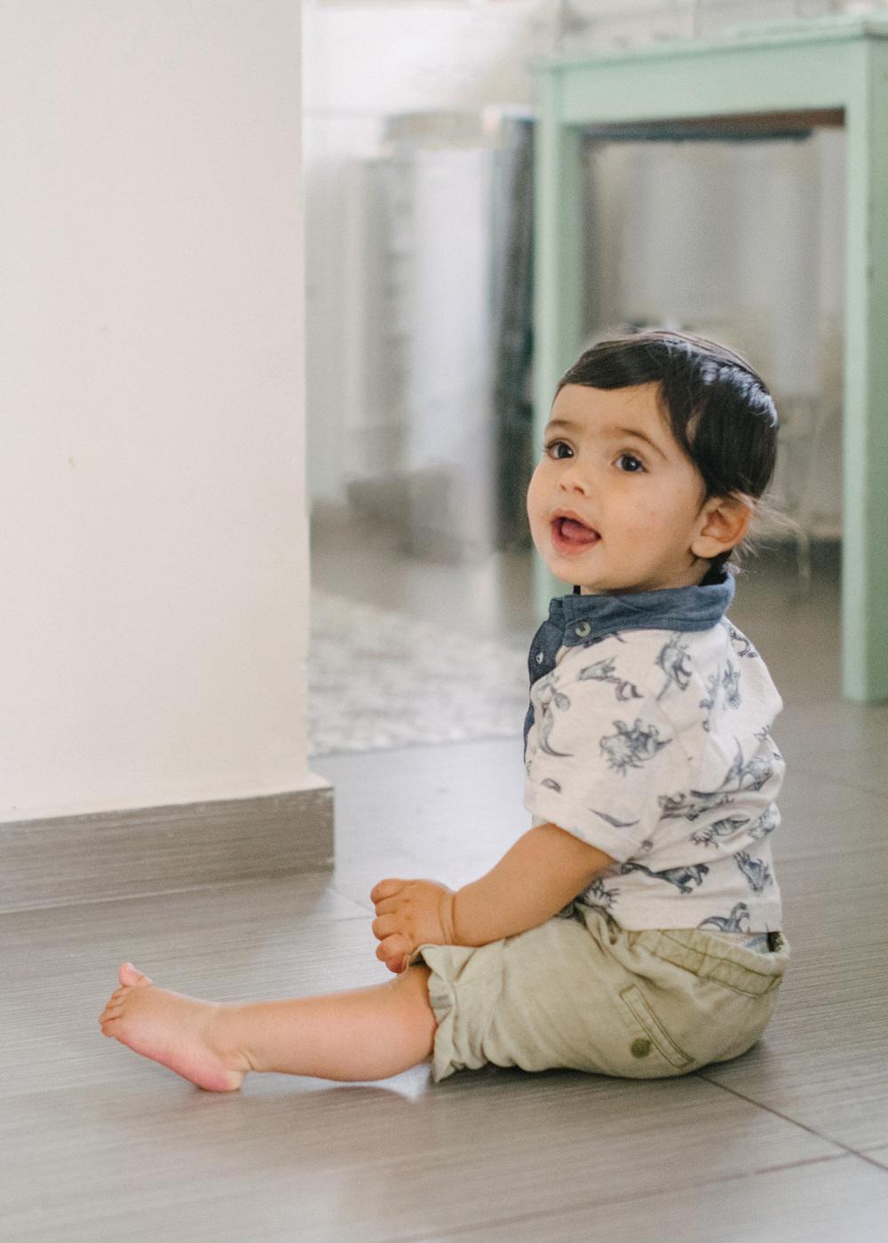 """""""אני אימא קולית"""" נטע אפרתי  בתמונה: אריאל בן ה 9 חודשים"""