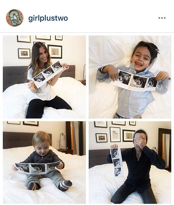 מתוך האינסטגרם שלדקלה גורן דקל Dikla Goren Dekel, GIRL PLUS TWO,אימא לשני בנים