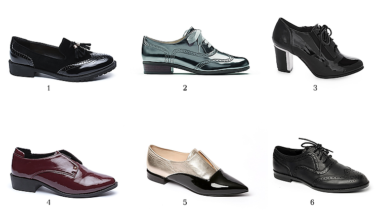 1. סקופ (צילום: עמירם בן ישי) 2. קלארקס (צילום שחר אשרת) 3. Adika  (צילום טל קרת)    4.נעלי TOGO  (צילום עמירם בן ישי) 5. ניין ווסט (צילום מנחם עוז) 6. גלי - נשים (צילום מנחם עוז)