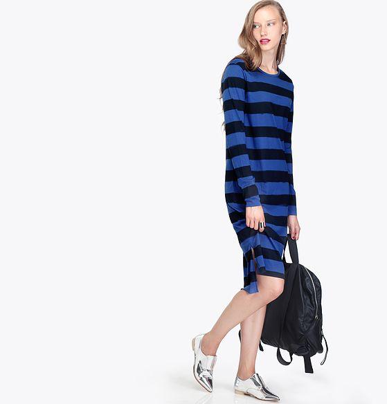 שמלת פסים של BELL&SUE (צילום: זוהר שטרית)