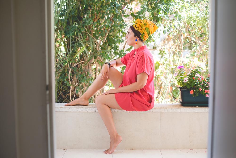 נעמה כהן, צילום : אורטל אקרמן. שמלה: סיסטר M