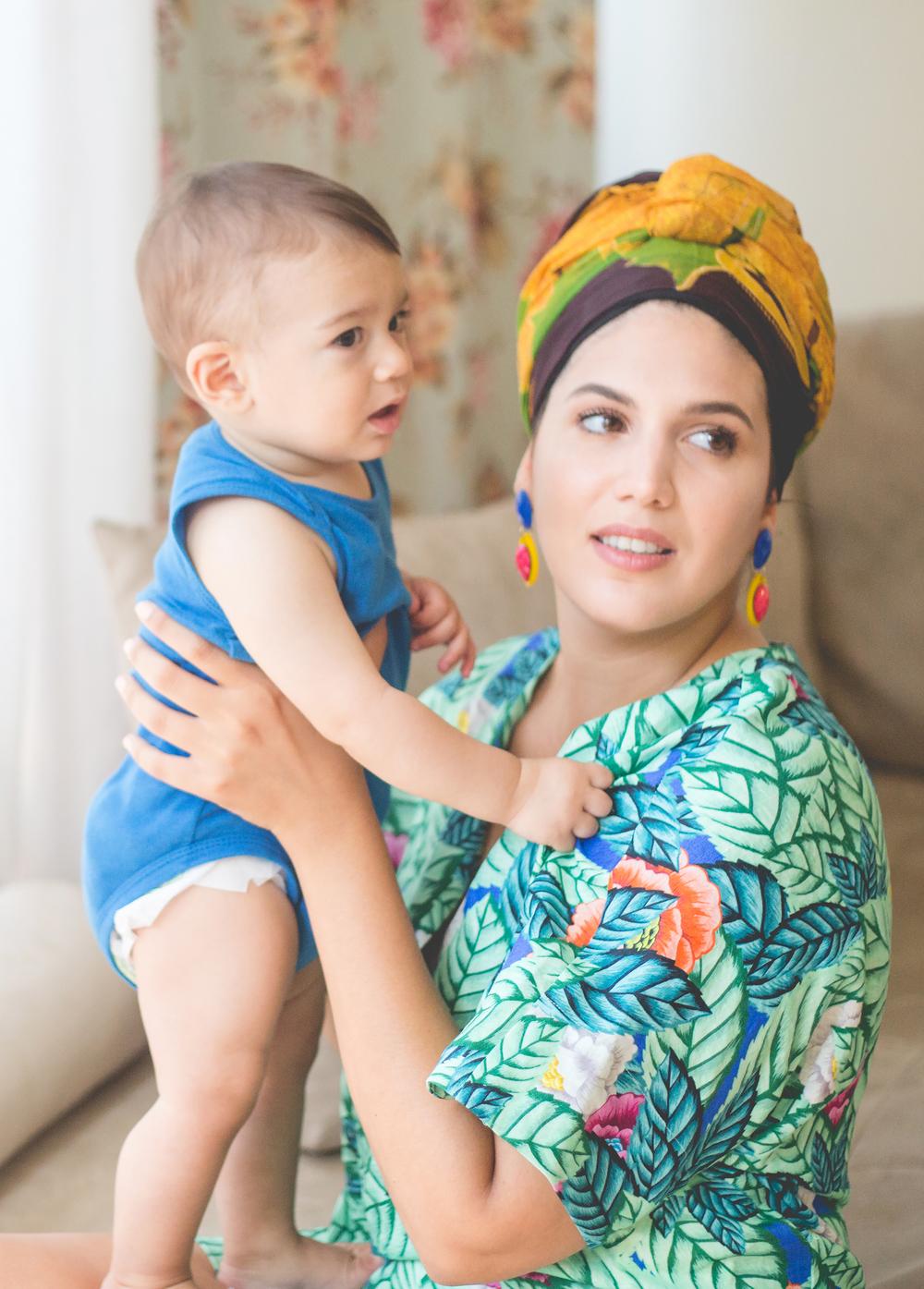 נעמה כהן, צילום: אורטל אקרמן. שמלה:  belleandsue.co.il