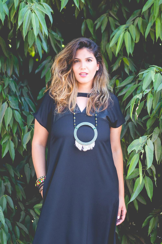 נעמה כהן, צילום: אורטל אקרמן. שמלה ושרשרת: סיסטר M