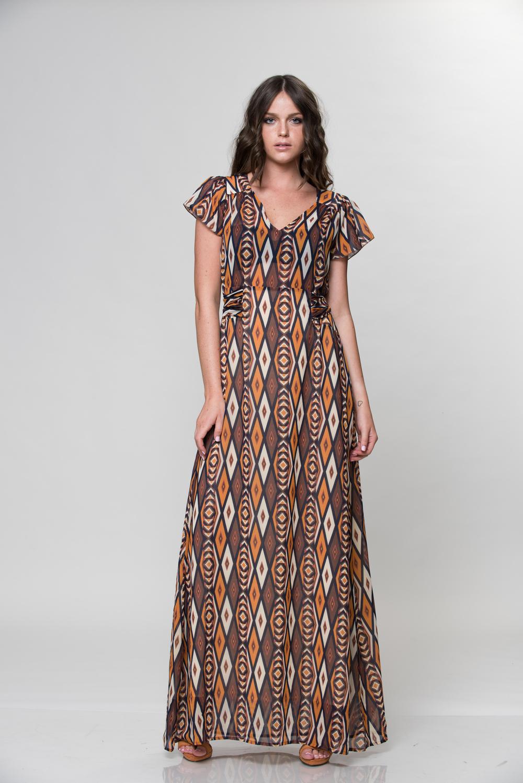 העיןהשלישית,שמלת מקסי דגםניבר (צילום:חייםכהן)