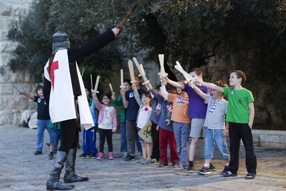 מסע אבירים במגדל דוד