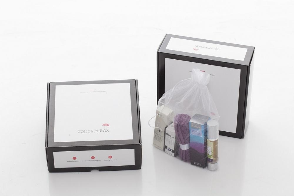 יופי בקופסה, קופסת מוצרי טיפוח ואיפור בהתאמה אישית CONCEPT BOX (צילום: בני אדם)