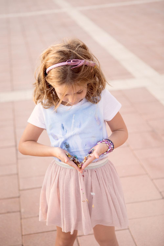 חצאית טוטו טול בלרינה ילדות מנגו נעלי בובה צ'ילדרנס פלייס