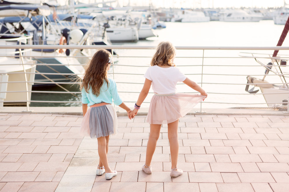 חצאית טוטו בלרינה מנגו נעלי בובה צ'ילדרנס פלייס