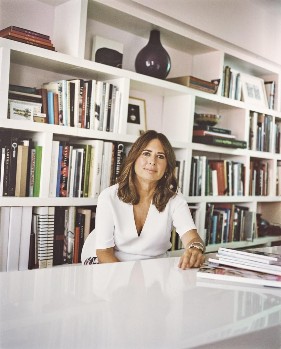 אלכסנדרה שולמן עורכת ווג הבריטי מתוך הסרט  אופנה טוטאלית: בתוך ׳ווג׳  (תמונה באדיבות yes דוקו)