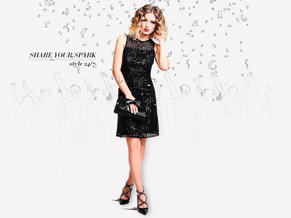 שמלה: מנגו, נעליים ותיק: צ׳ארלס אנד קית׳