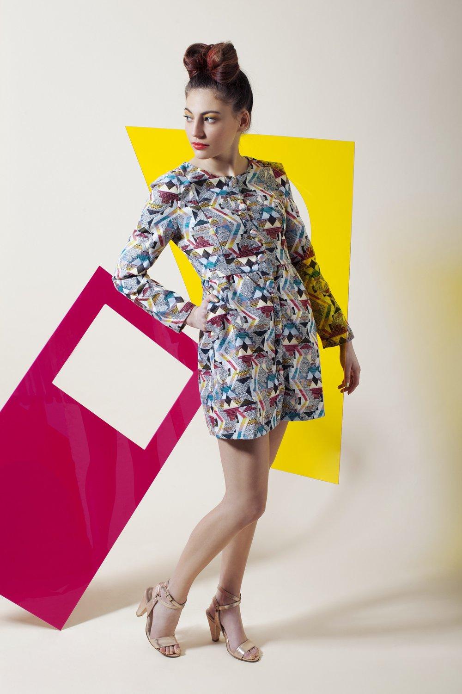 מתוך הפקת אופנה מיוחדת ליריד suprmarket, צילום: דרור בן נפתלי