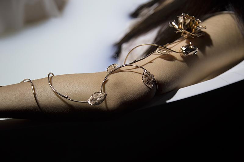 מתוך המיצג של קרן וולף בשבוע האופנה תל אביב (צילום: אנאל שוורץ)