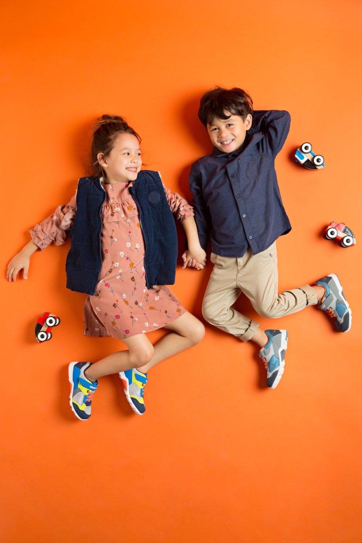 נוחות להליכה וניתנות לכיבוס, נעלי ילדים tsukihoshi (צילום: שי יחזקאל)
