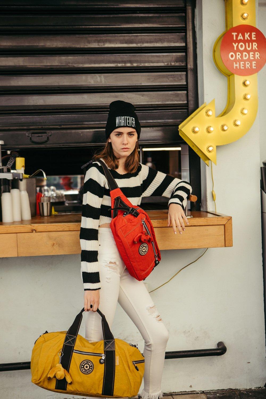 בלעדי בחנות הדגל החדשה שלKipling בקניוןTLV Fashion Mall (צילום: אורית פניני)